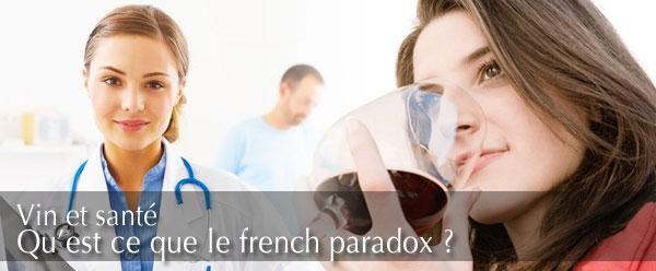 French paradox : vin et santé