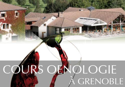 Cours oenologie au Golf de Grenoble