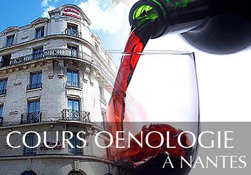 Cours d'oenologie au Mercure de Nantes