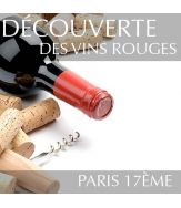 Découverte des vins rouges Paris