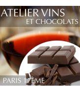 Atelier vins et chocolats Paris