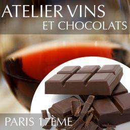Atelier vins et chocolats à Paris