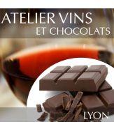 Atelier vins et chocolats à Lyon