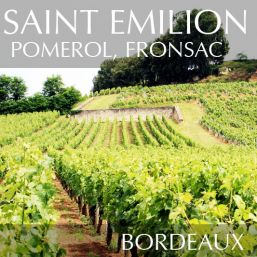 Saint Emilion, Pomerol, Fronsac