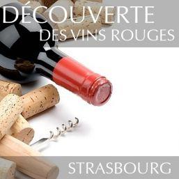 Découverte des vins rouges à Strasbourg