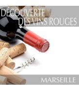 Découverte des vins rouges à Marseille