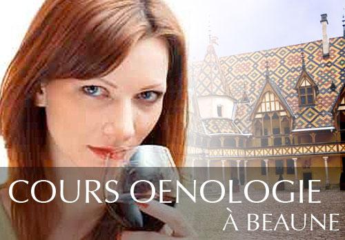 Cours d'oenologie aux Hospices de Beaune