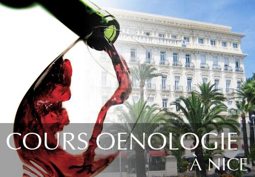 Cours oenologie au West End à Nice